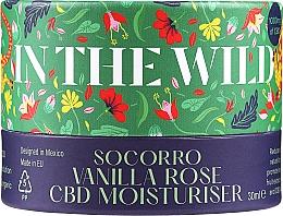 Perfumería y cosmética Crema facial hidratante con extracto de vainilla y aceite de rosa - In The Wild Socorro Vanilla Rose CBD Moisturiser