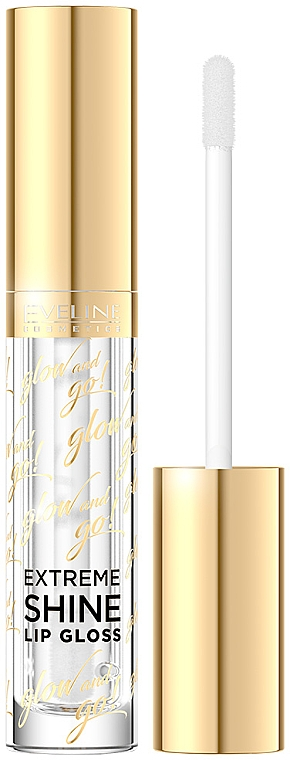 Brillo labial - Eveline Cosmetics Glow & Go Extreme Shine Lip Gloss