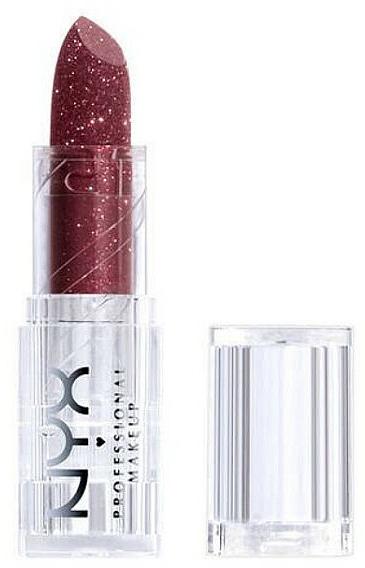 Barra de labios altamente pigmentada, vegana - NYX Professional Makeup Diamonds & Ice Please Lipstic