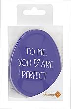 Perfumería y cosmética Cepillo de pelo desenredante, lila - Beauty Look Tangle Definer Petite Violet