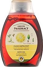 Perfumería y cosmética Aceite de ducha y baño, Clavo & limón - Green Pharmacy