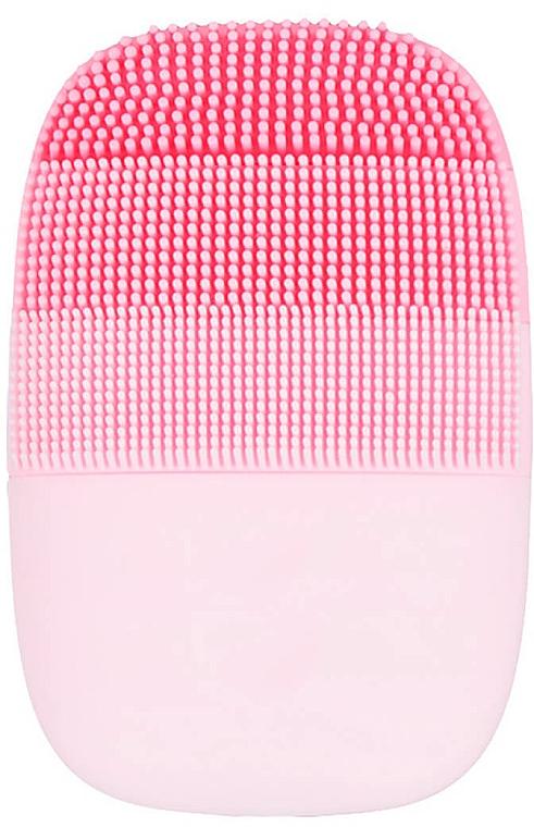 Cepillo de limpieza facial ultrasónico de silicona, rosa - Xiaomi inFace Electronic Sonic Beauty Facial Pink