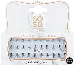 Perfumería y cosmética Pestañas postizas individuales - Sosu by SJ Individual 3D Luxury Fibre Lashes