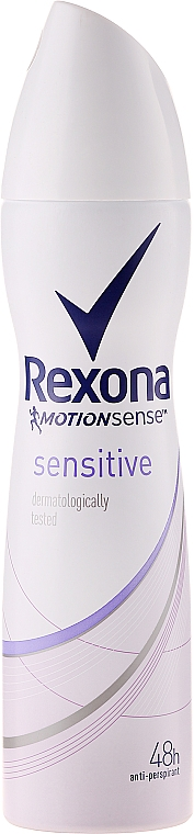 Desodorante antitranspirante - Rexona MotionSense Sensitive 48h