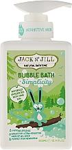 Perfumería y cosmética Espuma de baño hipoalergénica con extracto de semilla de quinua - Jack N' Jill Bubble Bath Simplicity