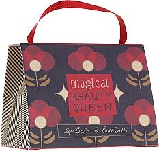 Perfumería y cosmética Set (bálsamo labial/15g + sales de baño/100g) - Bath House Barefoot & Beautiful Magical Beauty Queen