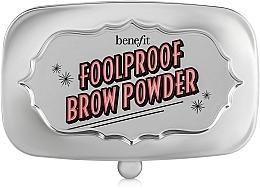 Perfumería y cosmética Polvo compacto para cejas - Benefit Foolproof Brow Powder