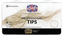 Perfumería y cosmética Tips de manicura, transparentes, largo - Ronney Professional Tips