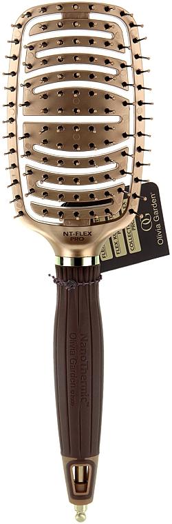 Cepillo para cabello - Olivia Garden NanoThermic Ceramic + Ion Flex Pro