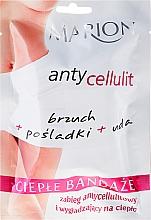 Perfumería y cosmética Bandas corporales anticeluliticas, efecto calor - Marion Anti-Cellulite Hot Bandages