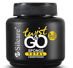 Perfumería y cosmética Acondicionador de uñas con aceites naturales y provitamina B5 - Silcare Twist & Go Sponge Total Conditioner