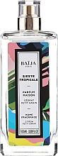 Perfumería y cosmética Spray de fragancia para el hogar, cedro y petitgrain - Baija Sieste Tropicale Home Fragrance