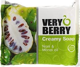 Perfumería y cosmética Jabón cremoso con extracto de noni y aceite de Monoï - Very Berry Noni & Monoi Oil