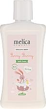 Perfumería y cosmética Espuma de baño orgánica para bebés con extractos de frutos rojos - Melica Organic Funny Bunny Bath Foam