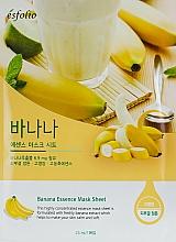 Perfumería y cosmética Mascarilla facial de tejido con extracto de banana - Esfolio Essence Mask Sheet