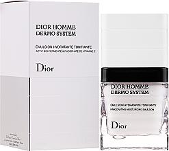 Emulsión facial vigorizante con ingredientes biofermentados y fosfato de vitamina E - Dior Homme Dermo System Emulsion  — imagen N2