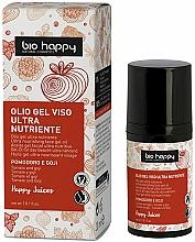 Perfumería y cosmética Aceite gel facial nutritivo con tomate y bayas de goji - Bio Happy Face Gel Oiltomato And Goji Berry