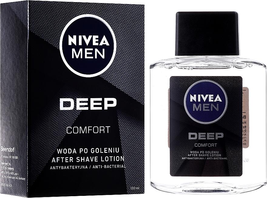 Loción aftershave - Nivea Men Deep Comfort After Shave lotion
