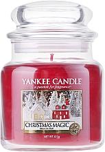 Perfumería y cosmética Vela aromática en tarro de ctistal, Magia de Navidad - Yankee Candle Christmas Magic