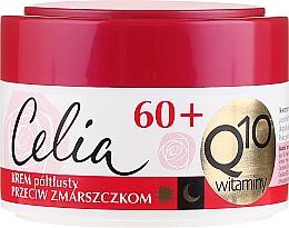 Perfumería y cosmética Crema facial reafirmante con coenzima Q10 - Celia Q10 Face Cream 60+