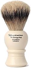 Perfumería y cosmética Brocha de afeitar artesanal con cerdas de tejón, S2236, talla XL - Taylor of Old Bond Street Shaving Brush Super Badger size XL