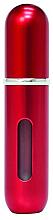 Perfumería y cosmética Atomizador recargable, vacío, rojo - Travalo Classic HD Red Refillable Spray