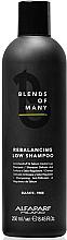 Perfumería y cosmética Champú equilibrante con extracto de levadura - Alfaparf Milano Blends Of Many Rebalancing Low Shampoo