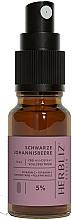 Perfumería y cosmética Spray bucal 100% natural vegano con aceite de comino negro y 5% CDB - Herbliz CBD Oil Mouth Spray 5%