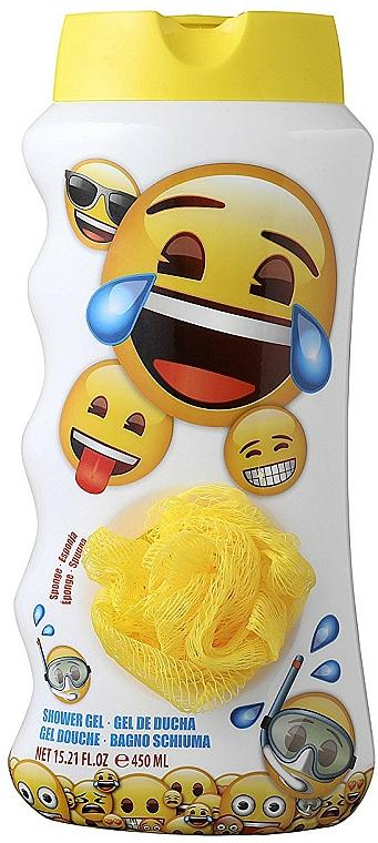 Gel de ducha infantil con esponja de malla - EP Line Emotions Shower Gel — imagen N1