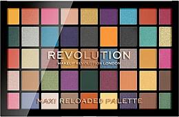Perfumería y cosmética Paleta de sombras de ojos, 45 colores - Makeup Revolution Maxi Reloaded Palette
