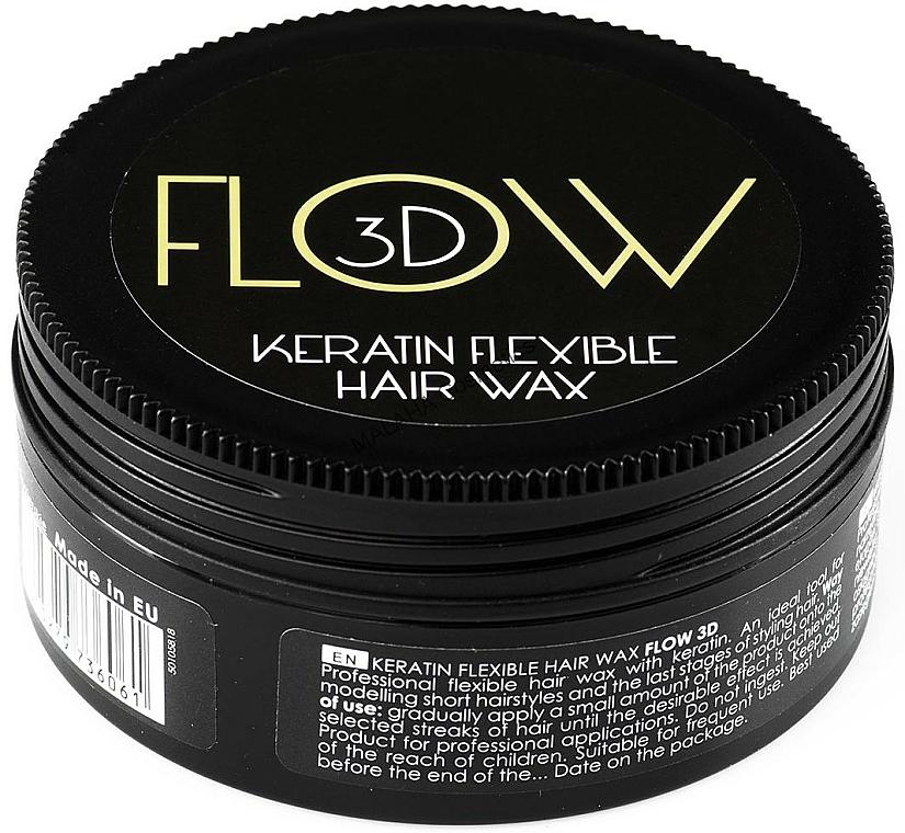 Cera modeladora para cabello con queratina - Stapiz Flow 3D Keratin Flexible Hair Wax