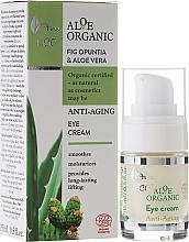 Perfumería y cosmética Crema rejuvenecedora para el contorno de ojos con aloe vera y higo opuntia - Ava Laboratorium Aloe Organiic Eye Cream