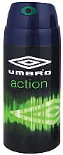 Perfumería y cosmética Umbro Action - Desodorante spray