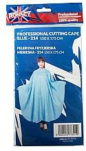Perfumería y cosmética Capa de peluquería, azul - Ronney Professional Cutting Cape