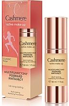 Perfumería y cosmética Base de maquillaje mate de larga duración - Dax Cashmere Active Make-Up Mattifying Foundation