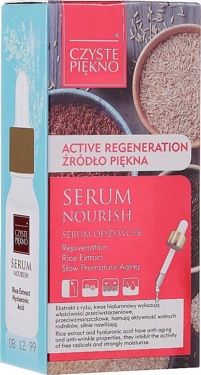 Sérum facial nutritivo con extracto de arroz - Czyste Piekno Face Serum