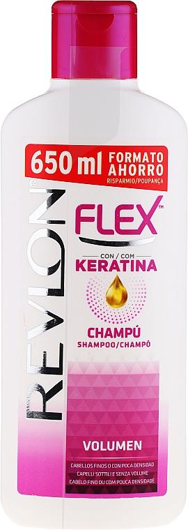 Champú anti puntas abiertas para volumen con pantenol - Revlon Flex Volumising Shampoo