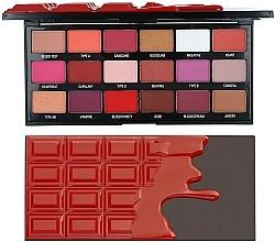 Perfumería y cosmética Paleta de sombras de ojos - I Heart Revolution Eyeshadow Chocolate Blood Palette