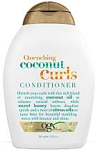 Perfumería y cosmética Acondicionador para cabello rizado con aceite de coco - OGX Coconut Curls Conditioner