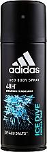 Adidas Ice Dive - Desodorante refrescante y tonificante, sin aluminio — imagen N1