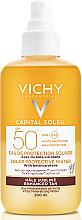 Perfumería y cosmética Spray de protección solar para rostro y cuerpo con betacaroteno y agua termal de Vichy, SPF 50 - Vichy Capital Soleil Solar Protective Water