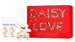 Perfumería y cosmética Marc Jacobs Daisy Love - Set (Eau de toilette/50ml + Gel de ducha/75ml + Leche corporal/75ml)