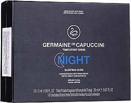 Perfumería y cosmética Sérum facial con péptidos de aguacate en ampollas - Germaine de Capuccini Timexpert SRNS Night Sleeping-Cure