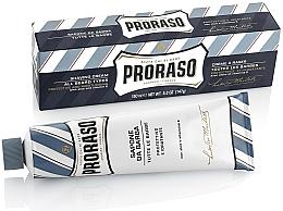 Perfumería y cosmética Crema de afeitar con aloe y vitamina E - Proraso Blue Shaving Cream