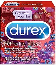 Perfumería y cosmética Preservativos ultra finos, 3uds. - Durex Fetherlite Elite