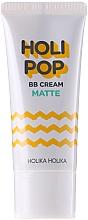 Perfumería y cosmética BB crema facial con karité y extracto de centella asiática, efecto mate - Holika Holika Holi Pop BB Cream