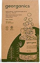 Perfumería y cosmética Recarga de tabletas dentales aromatizadas con aceite de árbol de té - Georganics Natural Toothtablets Tea Tree