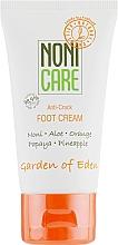 Perfumería y cosmética Crema de pies antiagrietamiento con extractos de papaya y piña - Nonicare Garden Of Eden Foot Cream Anti-Crack