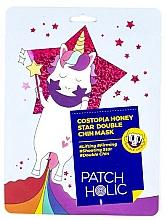 Perfumería y cosmética Mascarilla parche para barbilla con extracto de miel y propóleo - Patch Holic Costopia Honey Star Double Chin Mask
