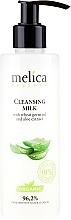 Perfumería y cosmética Leche facial limpiadora con extracto de aloe vera - Melica Organic Cleansing Milk